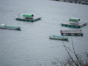 20090322-110曽根 釣場 イカダとカセ