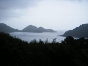 20090322-053二木島町太郎坂広場 二木島湾の景色