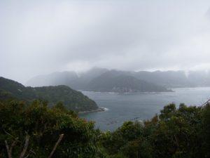 20090322-085甫母町ビューポイントより 英虞崎・神須の鼻方面(左)と牟婁崎方面(中)