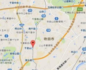 阪急オアシス千里山店 地図
