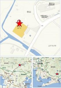 ◆地図 カーマホームセンター新城店