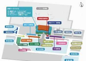 現在の空港案内図