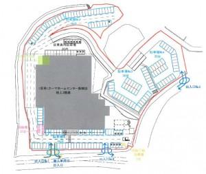 カーマホームセンター新城店 配置図