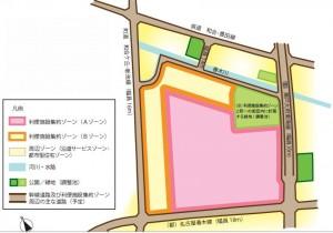 ららぽーと東郷 利便集約地図