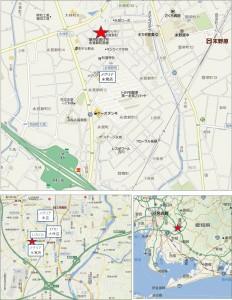 ◇地図カネスエ フェルナ永覚新町店