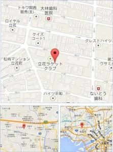 ◇地図 阪急オアシス立花店