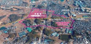 ららぽーと東郷 航空図