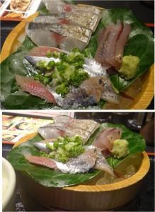 ★選べる刺身3種盛り定食-2 20140719まるさ水産大垣店 (13)