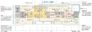 配置図-2階平面図 静岡空港