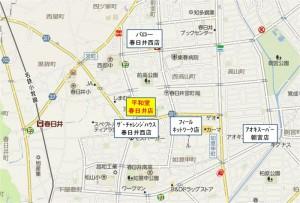 ◇競合店地図 平和堂春日井店(愛知県)