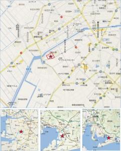 地図 バロー豊橋牟呂SC