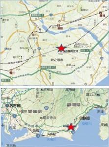 ◆地図- 富士山静岡空港