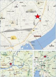 ■地図 20140812バロー川合店