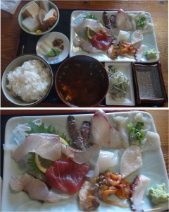 ★上刺身定食20140811みついと (1)