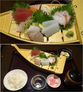 ★20140812さくらうお丁 (刺身定食)