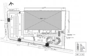 ケーズデンキ津島店 1階配置図