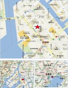 ◇豊洲フォレシア-地図