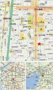 地図 心斎橋スクエア