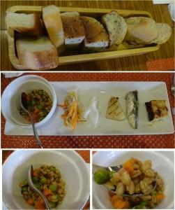 ★前菜とパン20140906クチネッタ ユギーノ