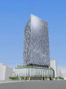 パース 外観-1 大名古屋ビルヂング2014121101