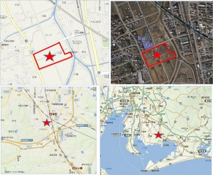 ◆スーパーセンターオークワ幸田店 地図