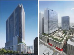 ●日本橋二丁目地区第一種市街地再開発事業 パース