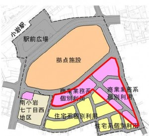 7街区構想図-5商業施設個別
