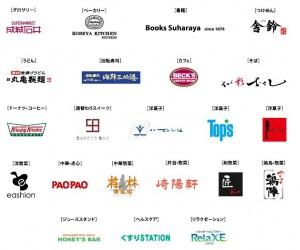 武蔵浦和ビーンズ12月11日オープン専門店ロゴ