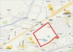 ◇大サイズ 地図 カインズモール藤枝