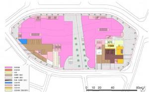 南小岩7丁目拠点1階配置図