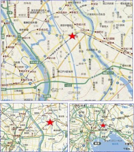 ●地図 JR小岩駅周辺まちづくり