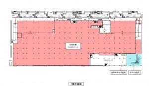ホームセンター棟 平面図 1階