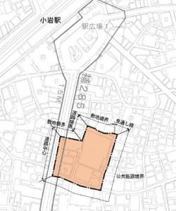 7丁目街区西地区図