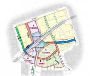 全体街づくり一覧図
