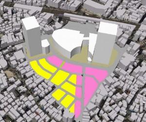 南小岩7丁目立体図