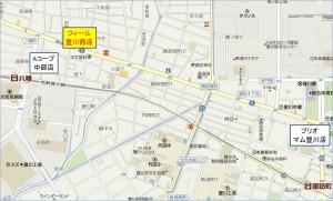 ◆競合地図フィール豊川西店