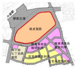 7街区構想図-4拠点