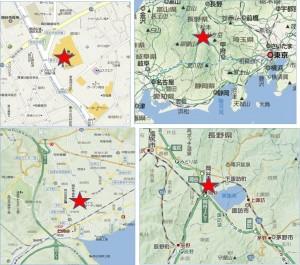 ◇地図 レイクウォーク岡谷