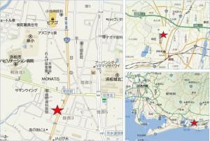 ビッグ富士和合店地図●