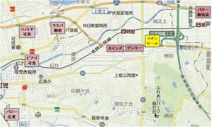 ◇地図-競合 イオンモール可児店