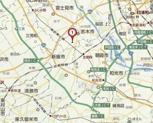 ヤオコー志木本町店 地図-2