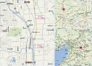 地図● ザ・ビッグエクストラ平群店20141229