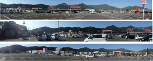 ◆20141231オークワ南紀店 (2)オークワ~ケーズデンキ