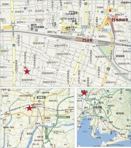 ◆地図 20150110ウェルシア岐阜加納本石町店