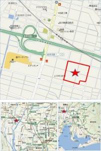 ●地図コストコ岐阜羽島