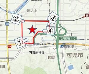 □地図 撮影場所イオンモール可児