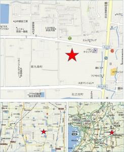 ●地図 トライアル九条東店