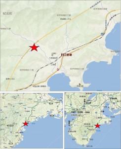 ●地図三浦パーキングエリア紀勢自動車道