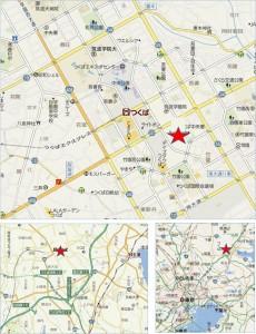 ●ヨークベニマルつくば竹園店 地図