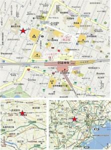 ●俺のハンバーグ吉祥寺店地図